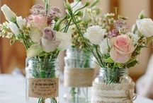 Mason Jars / Centerpieces, Isle Runners, Favor Containers and More!