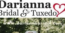 Bucks County Bridal Store / Have a question about our bridal and tuxedo store?  Text us at 215-491-8500.   Darianna Bridal & Tuxedo is Bucks County's bridal and tuxedo store. Founded and run by a local husband and wife team,  we are proud to help you find your wedding dress, tuxedo, suit or bridesmaid dress. Our staff is the kindest in the bridal business.  The store has been voted best bridal and tuxedo store by the Intelligencer and Courier Times in Bucks and Montgomery Counties every year since its founding.  Come visit us. We look forward to meeting you!