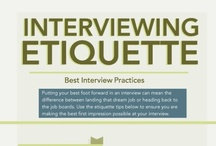 Career Etiquette & Job Interviews / by EU Talent & Careers
