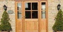 Bespoke Wooden Doors / Joinery that we've made for our clients in our Nottinghamshire workshop ~~~  www.merrinjoinery.com ~~~ Merrin Joinery design and makde bespoke doors for owners of listed buildings and period properties