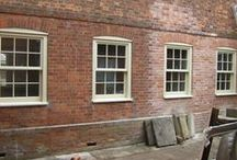 Sash Windows / Love your period home and want to enhance it? We make  wooden windows just like these.  Merrin Joinery specialise in making windows for listed buildings and period properties. www.merrinjoinery.com