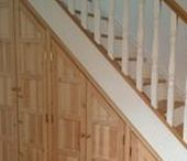 Staircase Storage Inspiration / We would be happy to make a timber staircase inspired by any of these. www.merrinjoinery.com