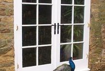 Double Doors / Patio doors, Folding Doors, Sliding Doors, French Doors, French Windows, Bi fold doors......... We would be happy to make you doors inspired by any of these ideas. www.merrinjoinery.com