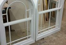 Feature Windows / Large windows, oak windows, picture windows, shaped windows, round windows, arched windows, curved windows, fancy windows......Love your period home and want to enhance it? We make wooden windows just like these.  Merrin Joinery specialise in making windows for listed buildings and period properties. www.merrinjoinery.com