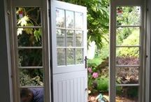 Stable Door / We make outward opening doors as well as inward opening ones. Love your home and want to enhance it? We would be happy to make you a door inspired by any of these design ideas.   www.merrinjoinery.com/Stabledoors.htm