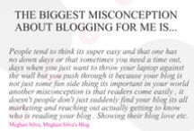 Blogging 101 / A blogging series that covers a few topics from finding your niche to using social platforms to assist in blog growth.