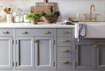 Front Frame Kitchen Ideas / Bespoke wooden kitchen design.