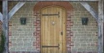 Oak Doors / Love your home and want to enhance it? We'd be happy to make you a door inspired by any of these ideas for Oak Doors.