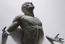 Art - Sculpture / « Ars est systema præceptorum universalium, verorum, utilium, consentientium, ad unum eumdemque finem tendentium. » « L'art est le système des enseignements universels, vrais, utiles, partagés par tous, tendant vers une seule et même fin. »  / by PAO