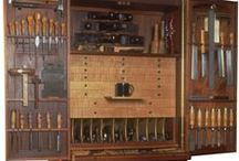 Woodworking Tools / Tools, Tool box. Tool Chest. Workshops