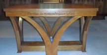 Ecclesiastical Furniture & Joinery / Wooden furniture in Churches, Cathedrals (and other religious buildings) ~~~~  Altar tables, Communion Tables, Pews, Lecterns, Choir stalls, Pulpits, Honour Boards, Memorial Boards, Cabnets, modern Church furniture  ~~~ Our board Oak Notice Boards might also be of intererst ~~~ http://www.merrinjoinery.com/Eccesiatical.htm