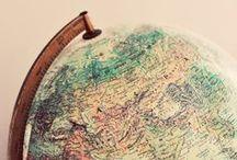 Globe Finger Travel