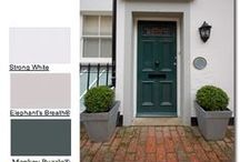 Farrow and Ball / Painted Windows. Painted Doors. Painted Joinery. Paint it. Love it.