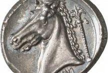 numismatica - bestiario / monete con animali