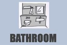 TINY House Bathroom / Small and efficient bathrooms. Look also my other Tiny House boards.