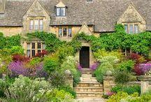 Traditional English Gardens / Period properties set within beautiful gardens. Traditional English Gardens. Love your home, Love your garden.