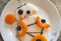 Fun Food for Children and Toddlers / The place for lots of fun food ideas for kids, as well as food art inspiration. Want some ideas for making healthy food fun for children? Then take a look here :)