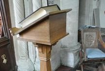 Lecterrns / Merrin Joinery make wooden lecterns www.merrinjoinery.com ~ Church Furnishings ~ Oak ~