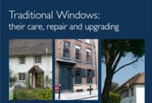 Window Repairs / Our specialist heritage knowlege and skills enable Merrin Joinery to carry out repairs on Grade I listed buildings and other period properties in the UK. #window #restoration