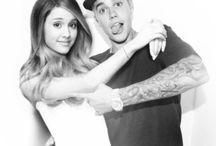 Jarina / Justin Bieber and Ariana Grande