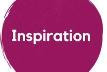 Words / Inspiration / Mit wenigen Worten viel gesagt. Inspirationen, Potenzialentfaltung, Worte, Zitate, Words, Lettering