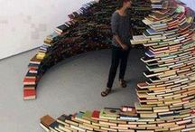 Made of books / All types of things big or small that have been made using books
