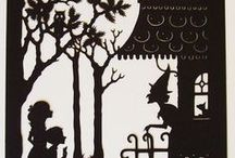 Paper cutting and paper craft / More on halloween paper cutting, and patterns and coloring pages boards / by Tal Gauthier