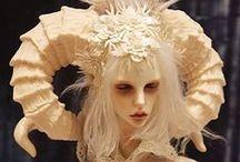 art dolls / puppets / by Heidi Schaumloeffel