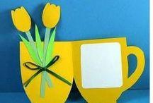 Vader- en moederdag zelf gemaakt / Zelfgemaakte cadeautjes voor moeder en vader.