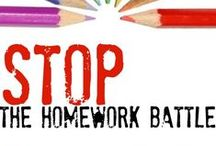 DO YOUR HOMEWORK / Find some tips on all things Homework Related!