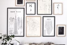 G a l l e r y / Beautiful gallery walls show how to display art in the home