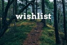 Wish List / Destinations that I'm keen to travel to