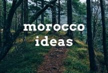 Morocco Travel Ideas / Travel post, articles and destination ideas for visiting Morocco in Northern Africa