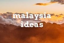 Malaysia Travel Ideas / Travel post, articles and destination ideas for visiting Malaysia in South East Asia