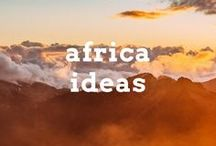 Africa Travel Ideas / Travel post, articles and destination ideas for visiting the continent of Africa including anticipated countries like Namibia, Tanzania, South Africa and Lesotho