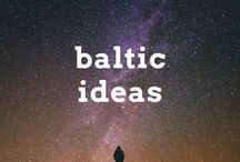 Baltic Travel Ideas / Travel post, articles and destination ideas for visiting the Baltic States of Estonia, Latvia and Lithuania in Europe