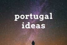 Portugal Travel Ideas / Travel post, articles and destination ideas for visiting Portugal in western Europe, including Lisbon, Porto, Algarve and the Douro Valley