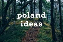 Poland Travel Ideas / Travel post, articles and destination ideas for visiting Poland in Central Europe