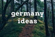 Germany Travel Ideas / Travel post, articles and destination ideas for visiting Germany, including Berlin, Frankfurt and Bavaria