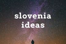 Slovenia Travel Ideas / Travel post, articles and destination ideas for visiting Slovenia, including Ljubljana, Bled, Piran and the Bohinj
