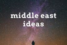 Middle East Travel Ideas / Travel post, articles and destination ideas for visiting the Middle East, including Israel, Jordan, UAE, Qatar