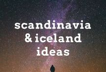 Scandinavia and Iceland Travel Ideas / Travel ideas and articles for visiting Scandinavia and the Arctic Europe, including Sweden, Denmark, Finland, Norway and Iceland