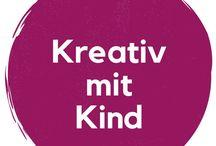 DiY   Kreativ mit Kind / Basteln und kreativ sein mit Kind. DiY, Ideen und Tipps. Motherbook, Matrisophie.