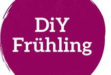 DiY Frühling / Bastelideen zum selbermachen für den Frühling. Ganz einfache, tolle DiY Ideen die du auch mit Kindern zusammen nachbasteln kannst!