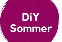 DiY Sommer / Sommer Ideen, Basteln mit Kind, DiY Tipps und Keativität. Fensterbilder, Deko, Outdoor