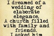 """""""I Do"""" Inspiration  / Ceremony Decor"""