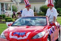 Parades at Brunswick Plantation: 4th of July / by Brunswick Plantation Living