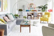H O M E | I N T E R I O R S / Styled Spaces, Home Decor + Furnishings