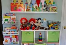 Organized Kids / Organizing Ideas and Inspiration for Children's Bedrooms, Playrooms and Learning Spaces