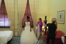 Behind the scenes | wedding film making